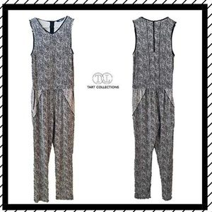 Tart Collections  Python Print Jumpsuit Sz Med NWT